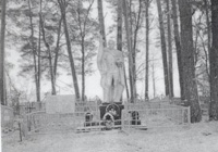 Памятник и братская могила партизан 2-ой Рогнединской партизанской бригады погибших в боях 1942-1943гг..