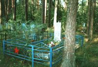 Деревня Саково братская могила