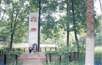 Братская могила в д. Никольская Слобода