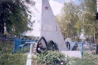 Братская могила воинов, погибших при освобождении села Крыжино