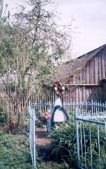 Памятник расстрелянным партизанам: В.Н.Ходулапову и Н.И.Комарову