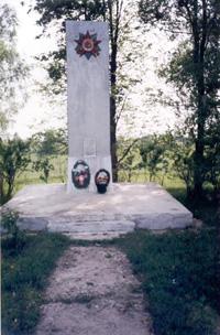 С. Крыжино Памятник односельчанам, погибшим в боях за Родину